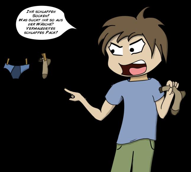 Ein älterer Comic von mir, aber ich hab den gerade wiedergefunden und dachte, ich reposte den nochma