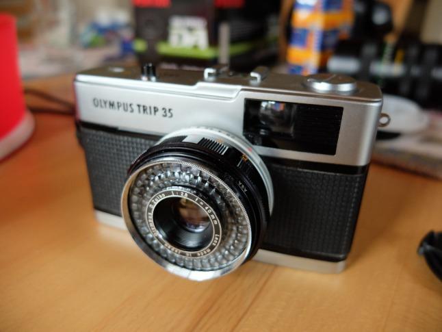 Alte Kompaktkamera