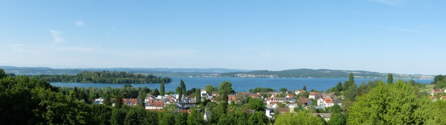 Bodensee gesehen von der Uni