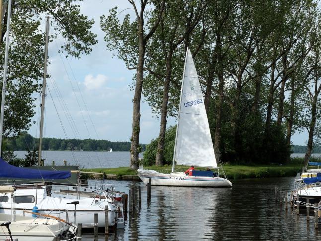 Setting sail