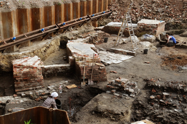 Ausgrabungsstelle
