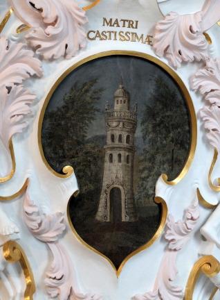 Fantasieturm in der Alten Kapelle