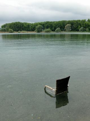 Platz im See