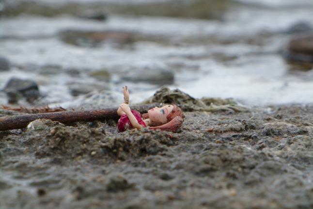 Angetriebene Meerjungfrau