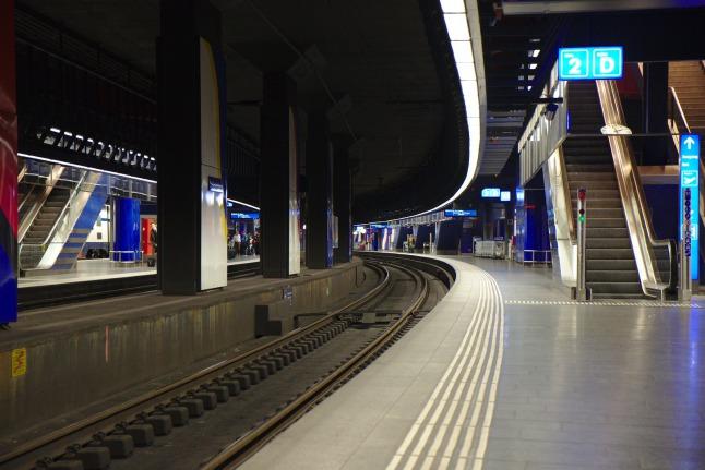 Zürich Airport Bahnhof