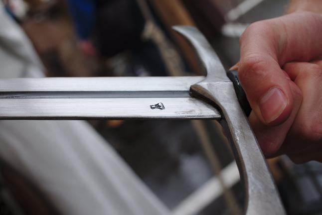 Schwertgravur