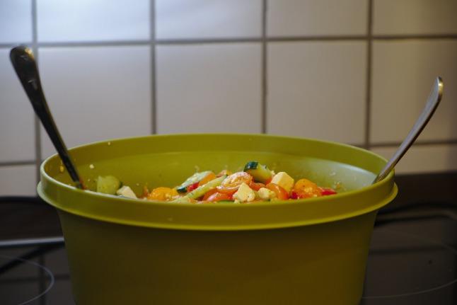 Fertiger Salat