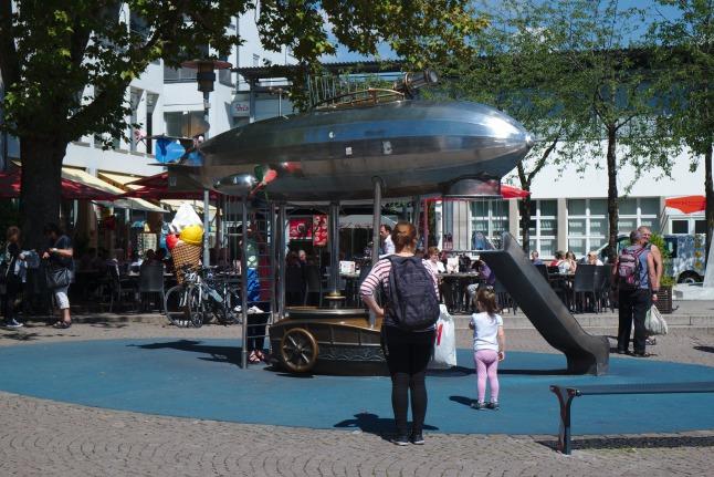 Friedrichshafen ist stolz auf die Luftschiffe