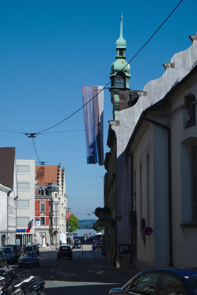 Straße in Bregenz