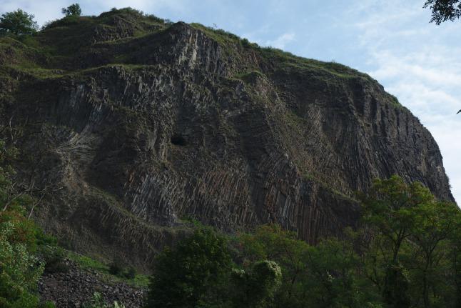 Vulkanische Formationen