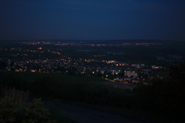 Rüdesheim bei Nacht