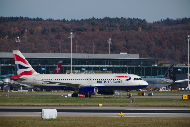 British Airways ist gelandet A320 (G-EUUD)