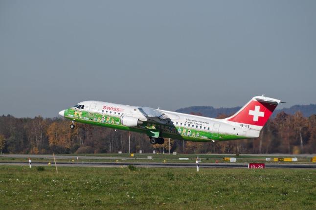SWISS Avro RJ-100 (HB-IYS)