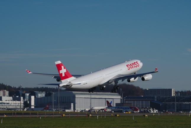 SWISS A340-300 (HB-JMA)
