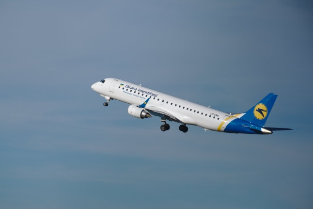 Ukraine International ERJ-190 (UR-EME)