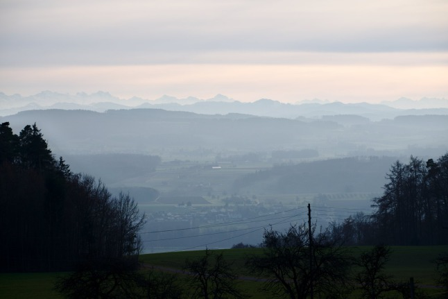 Ferne Berge