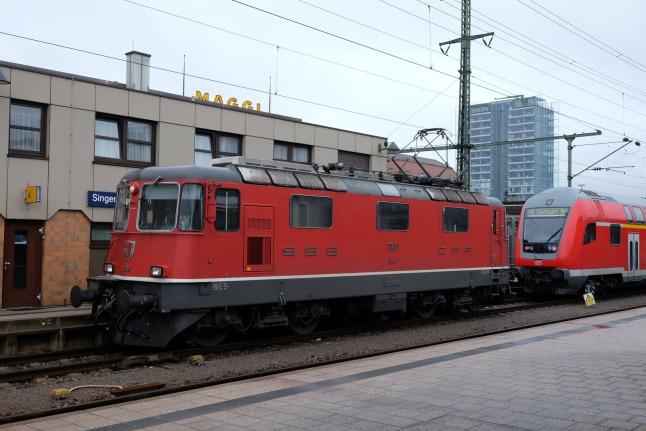 Niedliche Schweizer Lok