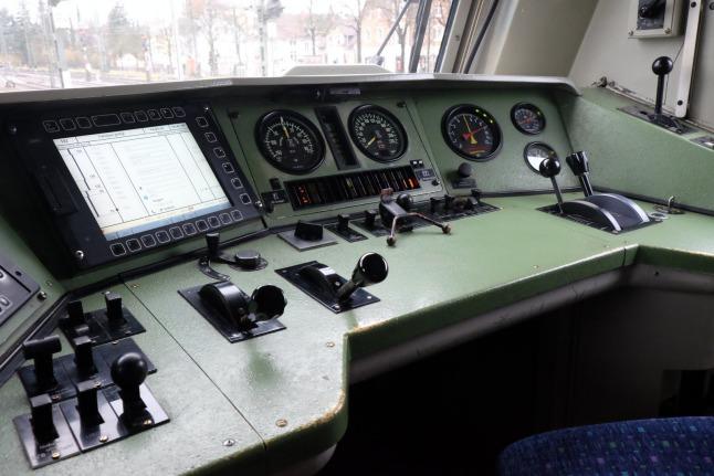 Führerstand BR 120