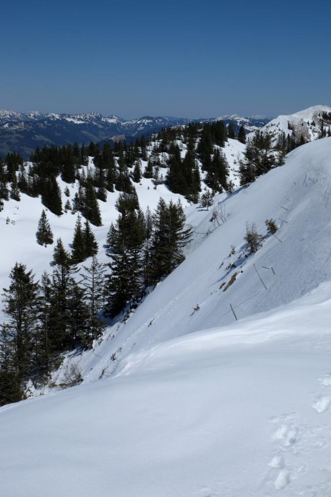 Steiler Hang