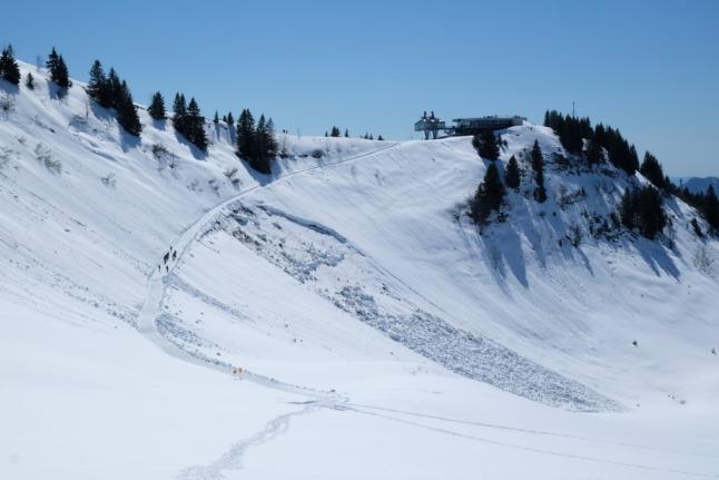 Bergstation Seilbahn Bezau