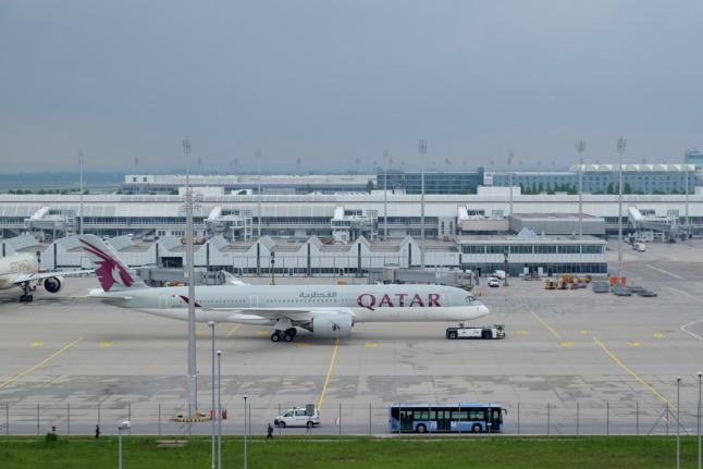 A350-900 wird Gassi geführt
