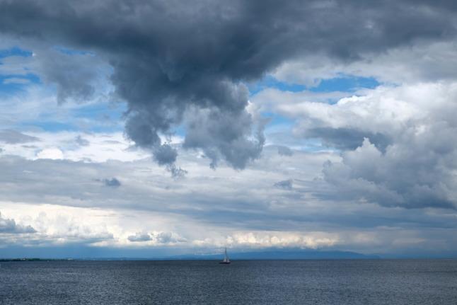 Einsames Schiffchen