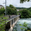 Brücke über den Rheinfall