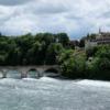 Schloss Laufen  mit Brücke