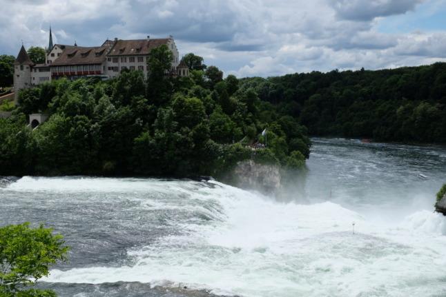 Rheinfall im Überblick