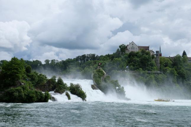 Gesamtbild Rheinfall