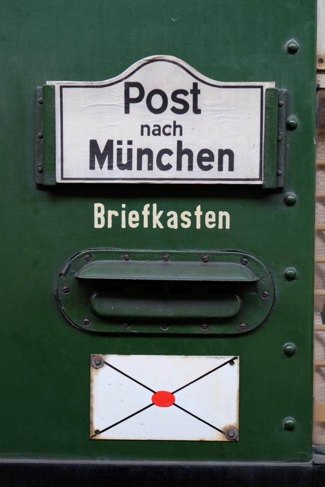 Briefkasten am Zug