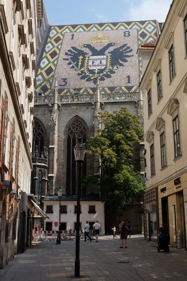 Dach des Stephansdom