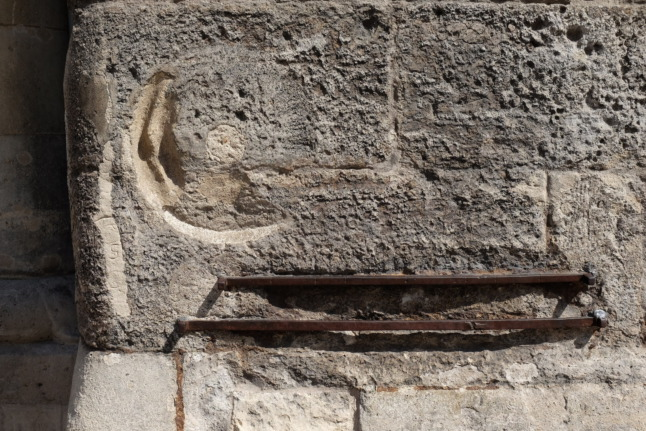 Längeneinheiten am Stephansdom