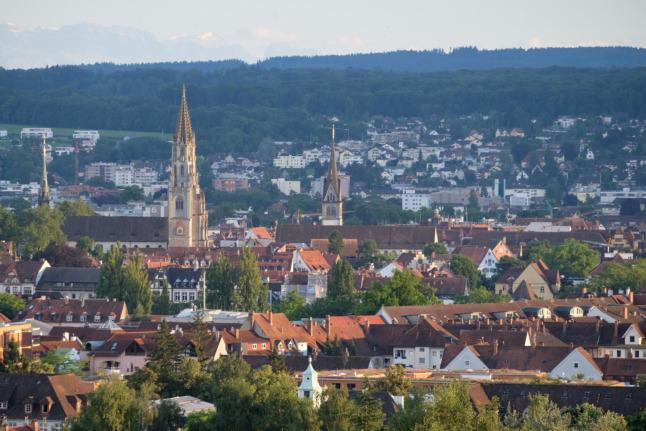 Konstanz von oben