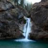 Gesamtbild Wasserfall